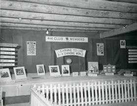 4-H Club exhibit at the State Fair