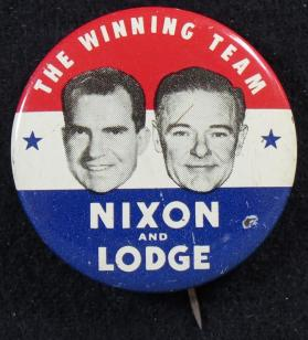 Nixon and Lodge/The Winning Team